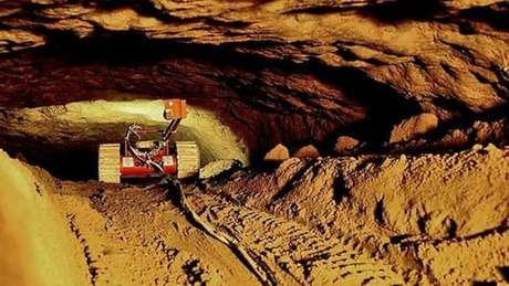 Foi a primeira vez que robôs foram usados em uma exploração arqueológica no México