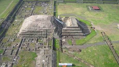 A cultura de Teotihuacan teve seu apogeu entre os anos 100 e 550 a.C.