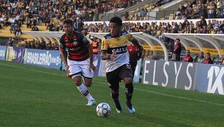 Atlético-GO e Criciúma ficam no empate em 1 a 1