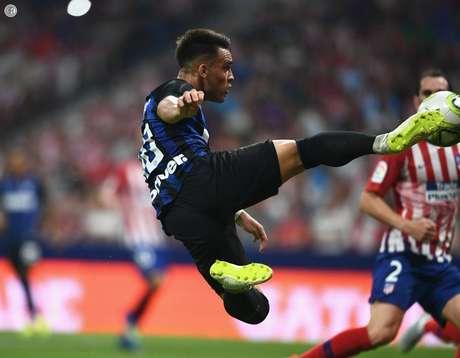 Lautaro Martínez marcou um golaço para a Inter.
