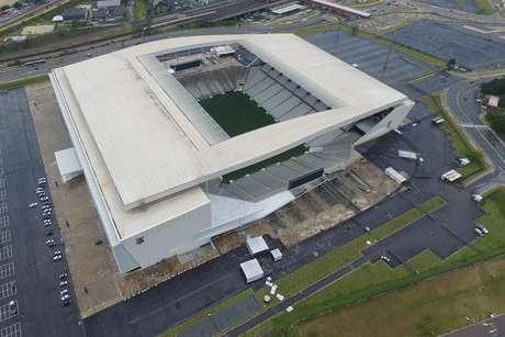 O estádio do Corinthians, em Itaquera, Zona Leste de São Paulo