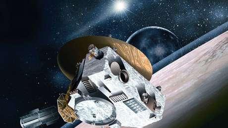 A sonda vai continuar tentando localizar, pelo menos duas vezes por ano, a parede de hidrogênio