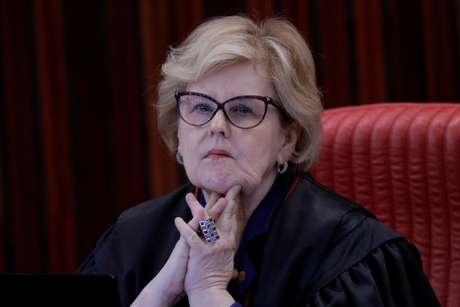 Ministra Rosa Weber durante sessão do TSE 08/06/2017 REUTERS/Ueslei Marcelino
