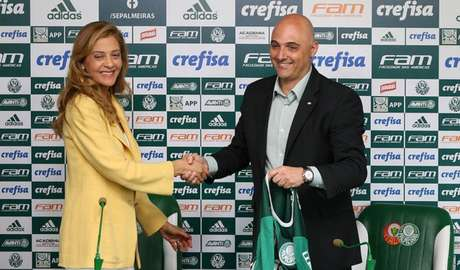 Leila Pereira abriu um processo contra três vice-presidentes do Palmeiras (Foto: Cesar Greco)