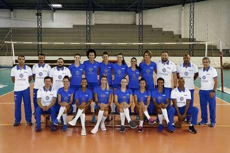 Hinode Barueri disputará a Superliga feminina pela segunda vez. Na última, ficou em sexto (Foto: Gaspar Nóbrega)