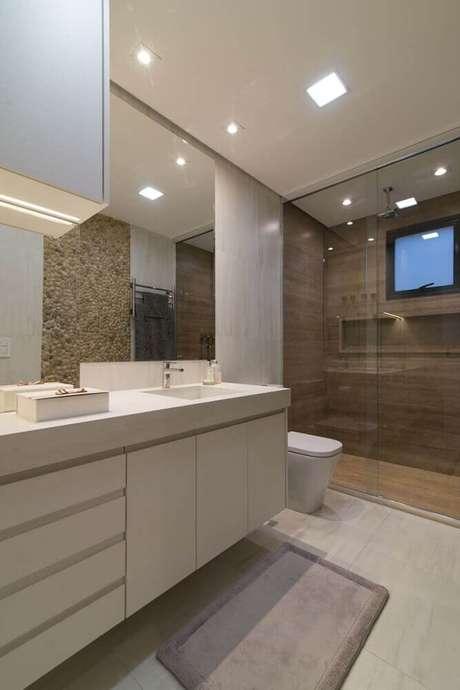 7. Nicho para banheiro em porcelanato