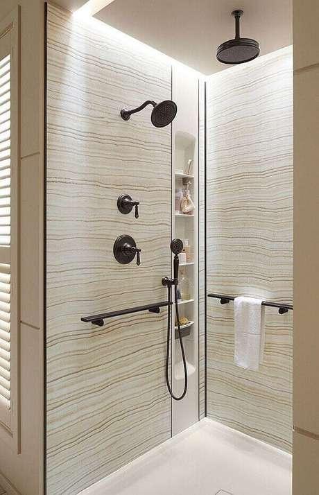 59- Nicho para banheiro longitudinal. Foto Pinterest