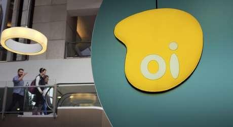 Logo da Oi em shopping em São Paulo, Brasil 14/11/2014 REUTERS/Nacho Doce