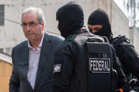 Neste processo, Eduardo Cunha havia sido denunciado pelo ex-procurador-geral da República Rodrigo Janot porque, na época, o emedebista ainda exercia o mandato de deputado e desfrutava do privilégio do foro especial