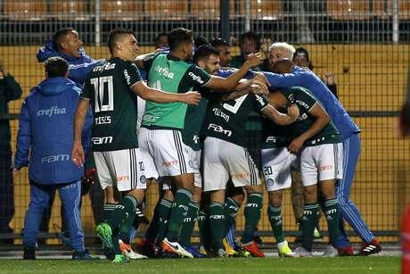 Palmeiras garantiu a vaga na semifinal da Copa do Brasil