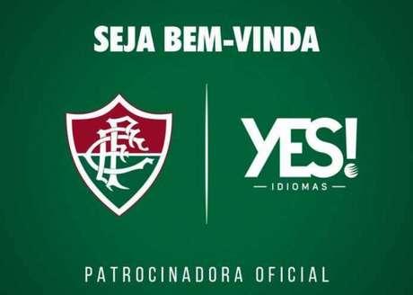 Novo patrocinador  Fluminense acerta com a Yes! até o fim de 2018 20cad0bf7f418