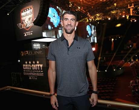 Michael Phelps em evento na California, em 2016
