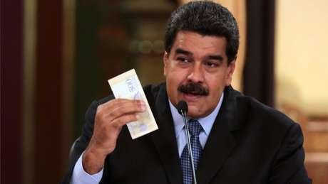 O presidente da Venezuela, Nicolás Maduro, apresentou novo pacote econômico que prevê uma nova moeada e salário mínimo 35 vezes maior
