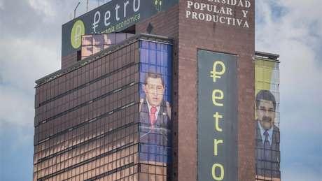 Venezuela criou sua própria criptomoneda, o petro