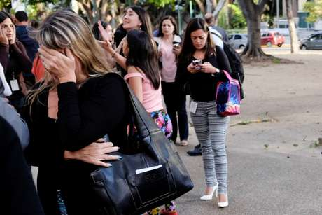 Prédios foram evacuados após terremoto