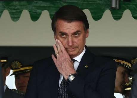 O deputado e candidato à Presidência da República Jair Bolsonaro