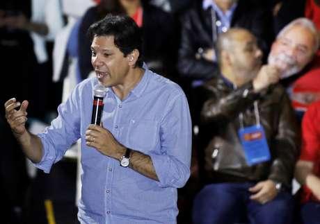 O ex-prefeito de São Paulo, Fernando Haddad, provável substituto de Lula na chapa presidencial do PT