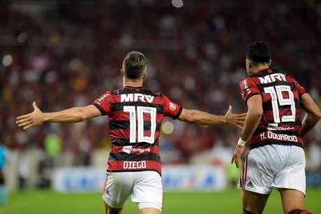 Diego marcou pelo Flamengo