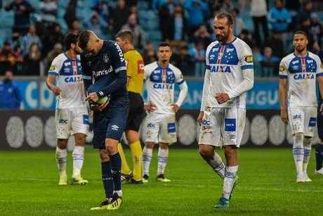 Luan perdeu pênalti para o Grêmio
