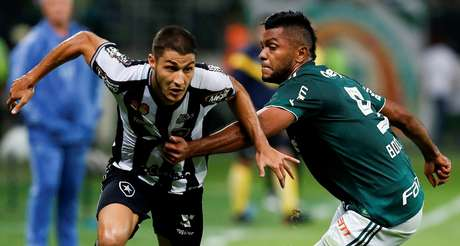 Lance de Palmeiras x Botafogo