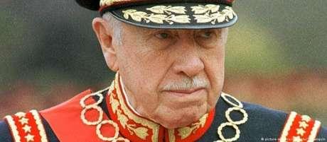 Pinochet comandou o Chile entre 1973 e 1990