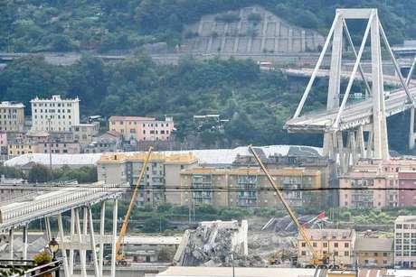 Desabamento da Ponte Morandi deixou 43 mortos em Gênova