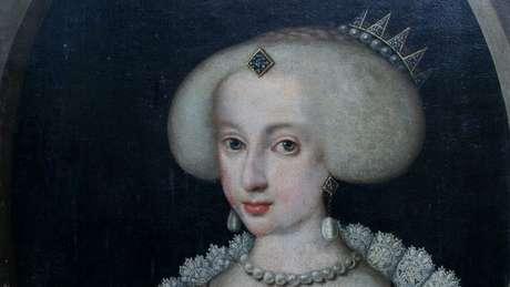 Pintura da rainha Cristina, da Suécia, que desafiou o establishment na Europa e é tida como um dos ícones da contra-cultura
