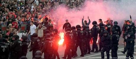 Segundo dia seguido de protesto em Chemnitz, no leste alemão