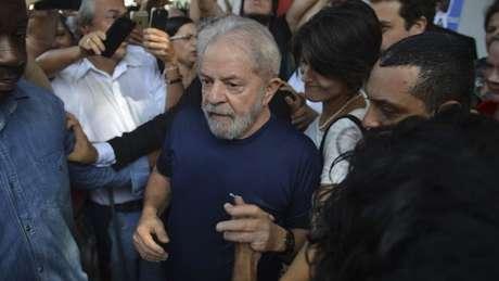 Lula foi preso em abril, depois de passar quase 48 horas no prédio do Sindicato dos Metalúrgicos do ABC