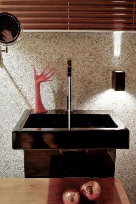 19. Itens inusitados deixam os banheiros modernos