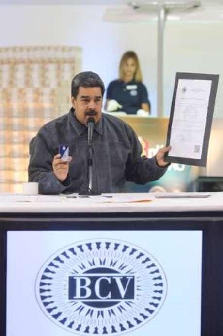 """Nicolás Maduro afirmou que venezuelanos escutaram """"canto de sereia"""" par viver """"no meio da guerra econômica"""""""