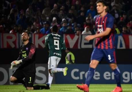 Último encontro: Cerro Porteño 0 x 2 Palmeiras - 9/8/2018