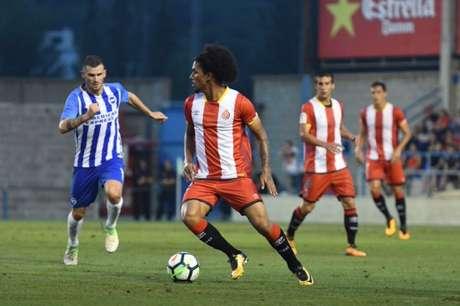 Douglas retorna ao Girona (Foto: Divulgação)