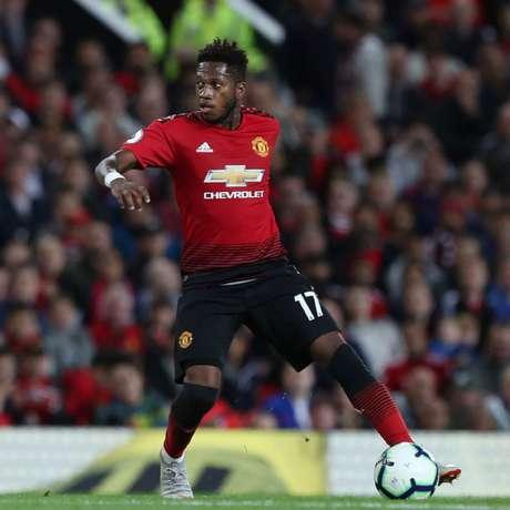 Fred foi titular nos três jogos do United na temporada (Foto:Reprodução/Twitter)