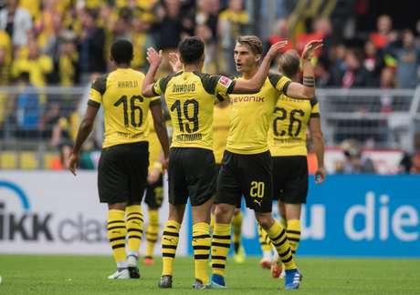 Após goleada por 4 a 1, Dortmund é líder do Campeonato Alemão (Foto: Reprodução)