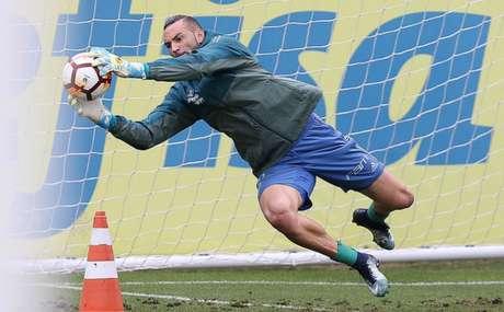 Weverton não sofre gols desde a partida contra o Fluminense, dia 25 de julho