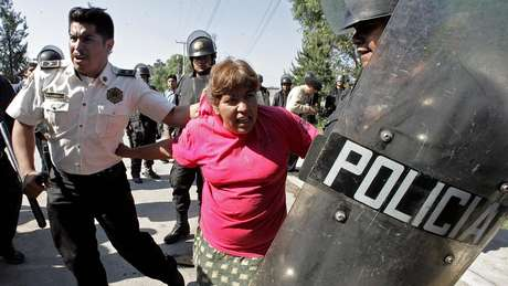 A repressão em San Salvador Atenco ocorreu em 2006, quando o atual presidente Enrique Peña Nieto era governador do Estado do México