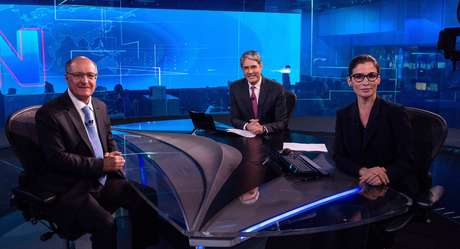 Geraldo Alckmin com Bonner e Renata: dribles para se livrar das perguntas mais polêmicas