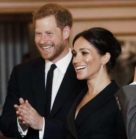 Príncipe Harry e Meghan Markle Foto: Reprodução/Instagram/@kensingtonpalace