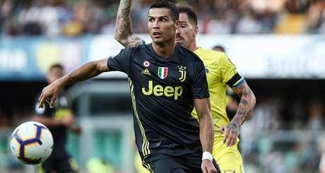 Cristiano Ronaldo ainda não marcou no Italiano (Foto: AFP)