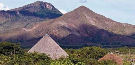 Terra Indígena Raposa Serra do Sol é uma das que ficam na fronteira do Brasil com a Venezuela