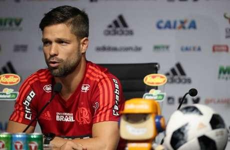 O meia Diego, um dos destaques do Flamengo.