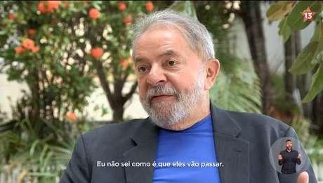 Lula em depoimento veiculado no primeiro programa eleitoral do PT para a TV nas eleições 2018