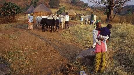 As vítimas moravam em povoados perto do lago Nyos, próximo à fronteira de Camarões com a Nigéria