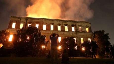 Grande acervo histórico e acadêmico se perdeu em incêndio do Museu Nacional