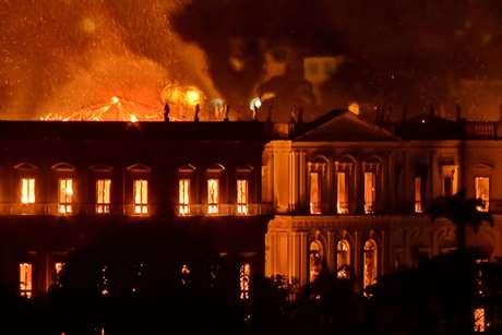 Incêndio destruiu 20 milhões de itens históricos