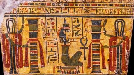 Esquife de Hori integra a coleção adquirida por D. Pedro 1º e é provavelmente oriunda de Tebas
