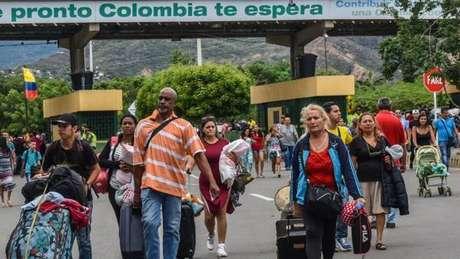 1,6 milhão de venezuelanos abandonaram o país desde 2015.