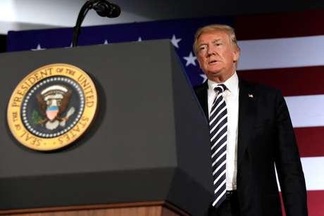 Presidente dos EUA, Donald Trump 31/08/2018 REUTERS/Yuri Gripas
