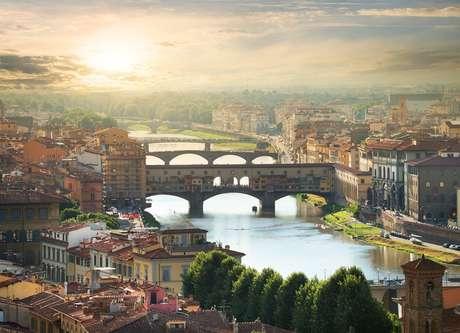 Pontes de Florença, na Itália